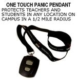 One touch panic pendant
