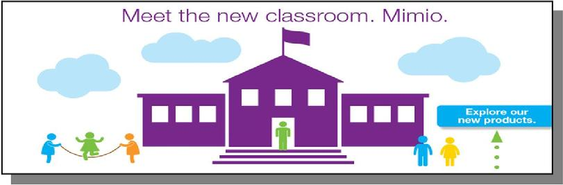 Meet the new classroom from Mimio